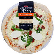 H-E-B Margherita Pizza, Made Fresh In Store