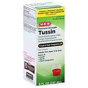H-E-B Max Cough & Chest DM Tussin