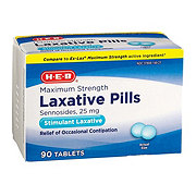 H-E-B Maximum Strength Stimulant Laxative Tablets