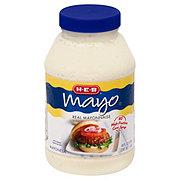 H-E-B Mayo Real Mayonnaise