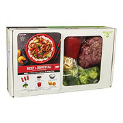 H-E-B Meal Simple Beef and Broccoli with Jasmine Rice Meal Kit