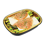 H-E-B Meal Simple Boneless Chicken Breast with Asparagus and Havarti