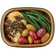 H-E-B Meal Simple Chicken Breast, Basil Pesto Marinade, Potatoes & Green Beans