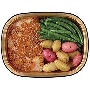 H-E-B Meal Simple Chicken Breast, Southwest Marinade, Potatoes & Green Beans
