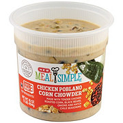 H-E-B Meal Simple Chicken Poblano Corn Chowder