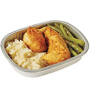 H-E-B Meal Simple Chicken Tender, Green Beans and Almondine Mashed Potatoes