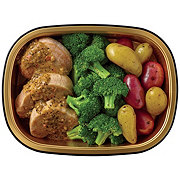 H-E-B Meal Simple Chipotle Lime Pork Tenderloin with Broccoli and Potatoes
