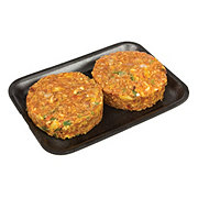H-E-B Meal Simple Chipotle Pepper and Lime Salmon Burger Entree