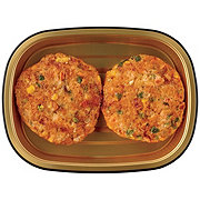 H-E-B Meal Simple Fiesta Jalapeno Atlantic Salmon Burgers