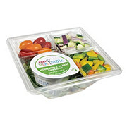 H-E-B Meal Simple Garden Salad with Homestyle Ranch Dressing
