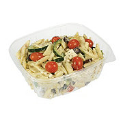 H-E-B Meal Simple Greek Pasta with Cucumber Feta Kalamata