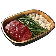 H-E-B Meal Simple Homestyle Meatloaf and Mashed Potatoes