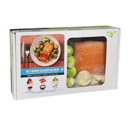 H-E-B Meal Simple Hot Honey Glazed Salmon Meal Kit