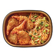 H-E-B Meal Simple Jumbo Coconut Shrimp with Spicy Sesame Noodles