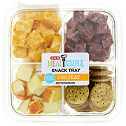 H-E-B Meal Simple Meat and Cheese Snack Tray