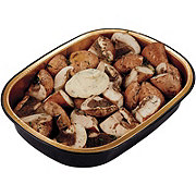 H-E-B Meal Simple Mushroom Quarter's with Steakhouse Butter