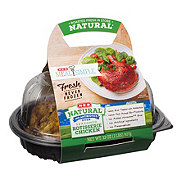 H-E-B Meal Simple Natural Seasoned Rotisserie Chicken