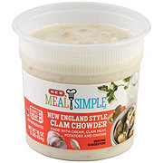 H-E-B Meal Simple New England Style Clam Chowder