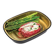 H-E-B Meal Simple Parmesan Cheese filled Flank Steak with Asparagus