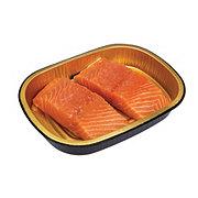 H-E-B Meal Simple Plain Atlantic Salmon Portions