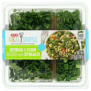 H-E-B Meal Simple Quinoa and Corn Blend with Spinach