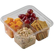 H-E-B Meal Simple Rotisserie Chicken Salad Snack Tray