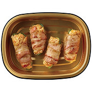 H-E-B Meal Simple Seafood Stuffed Bacon Wrapped Jalapeno Poppers