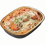 H-E-B Meal Simple Spaghetti with Meatballs Casserole