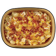 H-E-B Meal Simple White Cheddar Macaroni with Chicken and Bacon Casserole