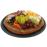 H-E-B Meat, Cheese and Veggie Pretzel Party Tray
