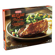 H-E-B Meatloaf and Potatoes