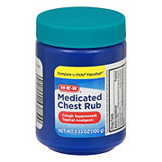 H-E-B Medicated Chest Rub