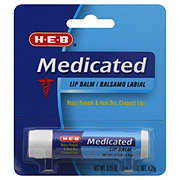 H-E-B Medicated Lip Balm