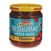 H-E-B Medium Chunky Restaurant Style Salsa