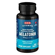 H-E-B Melatonin 10 mg Quick Dissolve Tablets