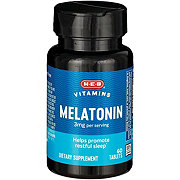 H-E-B Melatonin 3 mg Tablets
