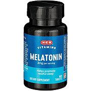 H-E-B Melatonin 3 mg Tablets