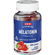 H-E-B Melatonin 5 mg Adult Gummies