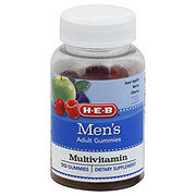 H-E-B Men's Multivitamin Gummies