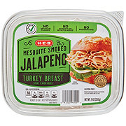 H-E-B Mesquite Smoked Jalapeno Turkey Breast Tub