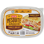 H-E-B Mesquite Turkey Family Size Tub