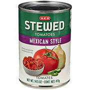 H-E-B Mexican Style Stewed Tomatoes