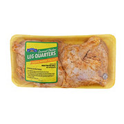 H-E-B Mi Comida Chicken Leg Quarters Orange Pepper Seasoned