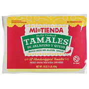H-E-B Mi Tienda Fully Cooked Jalapeno and Cheese Tamales