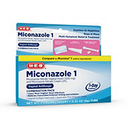 H-E-B Miconazole 1  3-Step System Combination Pack