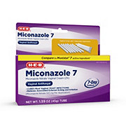H-E-B Miconazole 7 Day Vaginal Cream