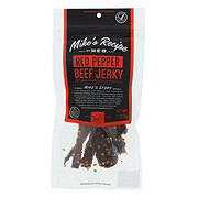 H-E-B Mike's Recipe Red Peppered Beef Jerky