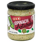 H-E-B Mild Spinach And Artichoke Dip