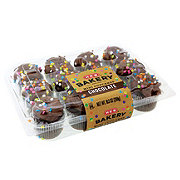 H-E-B Mini Chocolate Confetti Cupcake