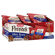 H-E-B Mini Twist Pretzels, Multipack